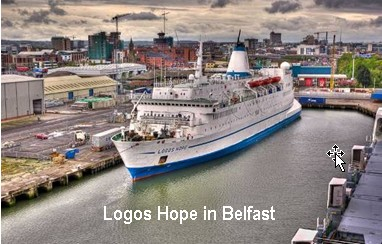 Logos Hope in Belfast