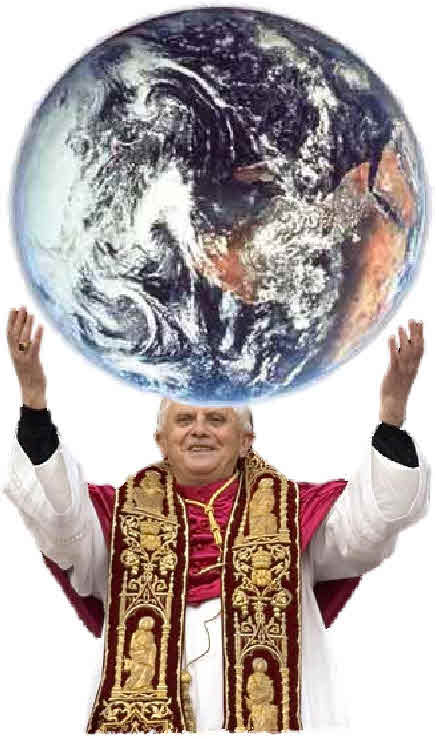 Pope and world