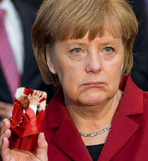 Merkel and judge