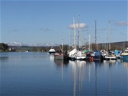 Boats in Muirtown Basin