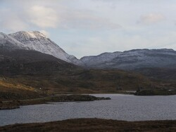 Ardvreck Castle and Ben More A