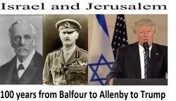 Balfour to Allenby to Trump