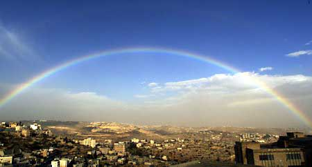 Rainbow over Bethlehem