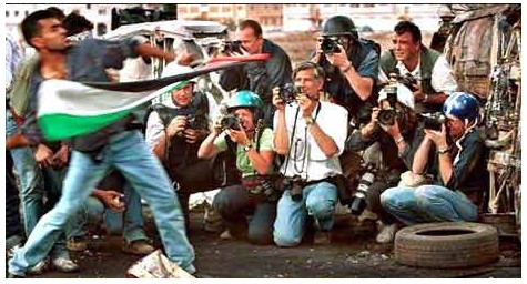 Palestinians and media