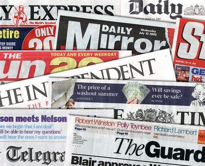 Newspapers small