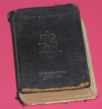 Coronation New Testament cropp