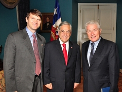 Luis Andrew and Chilean Presid